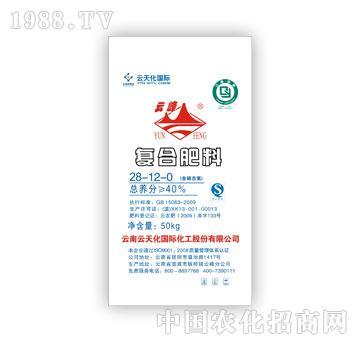云天化-硝铵磷复合肥料28-12-0(50kg)