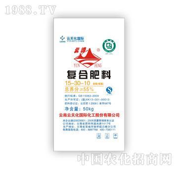 云天化-含低硝态氮复合肥料15-30-10