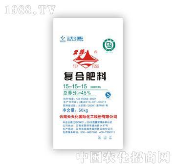云天化-硫酸钾型复合肥料15-15-15