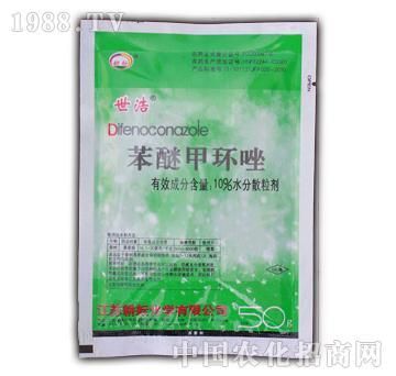 耘农化工-10%苯醚甲环唑WG