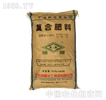 绿陵-40%复合肥(15-10-15)
