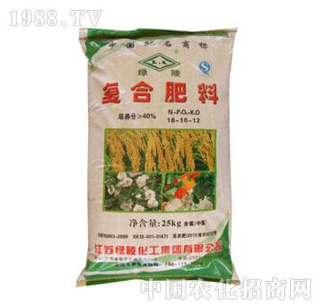 绿陵-40%复合肥(18-10-12)