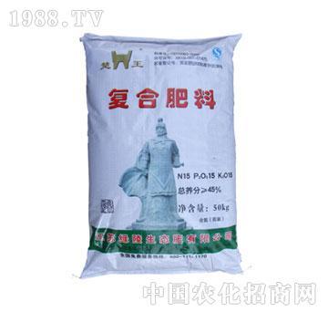 绿陵-45%楚王复合肥(15-15-15)