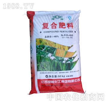绿陵-46%复合肥(17-14-15)