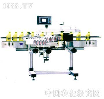 友联-YTB200-B型全自动扁瓶不干胶贴标签机