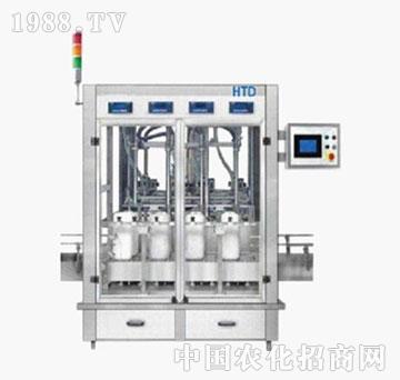 汇拓-FLW-4D全自动称重灌装机