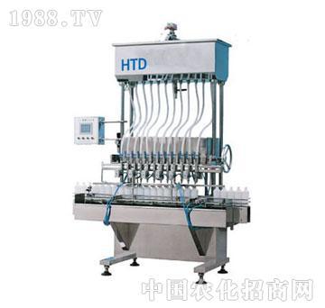汇拓-FLN-12B直列自流式液体灌装机