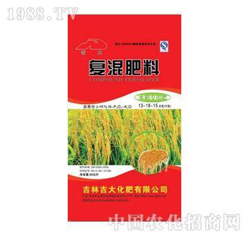 吉大-盐碱地水稻专用肥46(13-18-15)