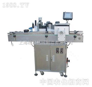 松精-sj-200不干胶自动贴标机