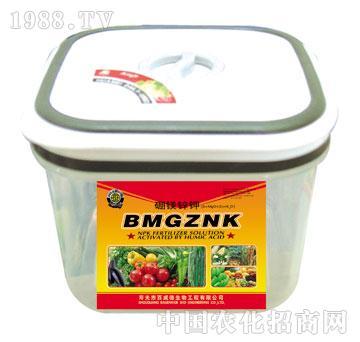 硼镁锌钾叶面肥