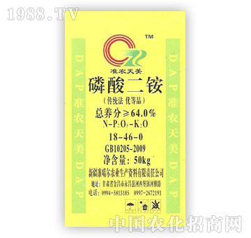 准噶尔-准农天美-磷酸二铵