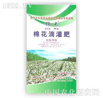 准噶尔-锦禾-棉花滴灌肥