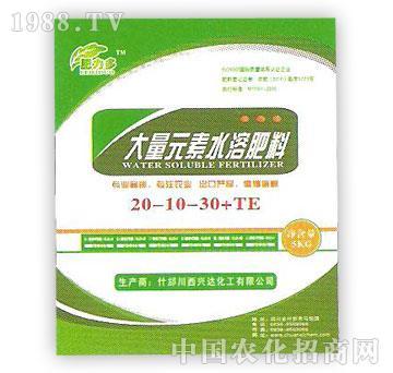 兴达-大量元素水溶肥料20-10-30