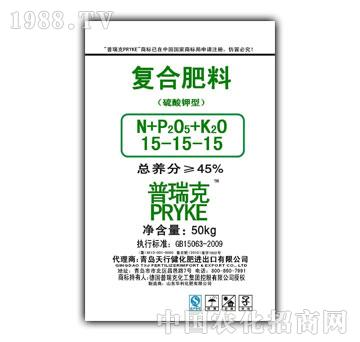 天行健-硫酸钾复合肥