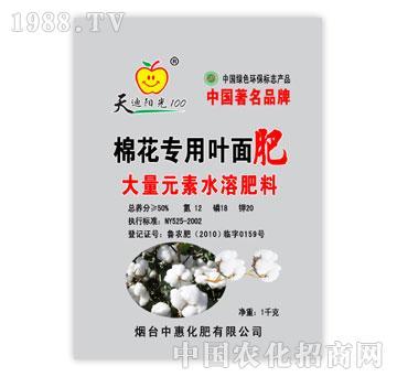 中惠-棉花专用叶面肥大量元素水溶肥料