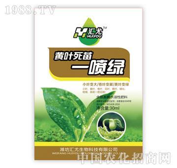 汇尤-黄叶死苗一喷绿
