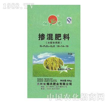 烟农-掺混肥料水稻专用