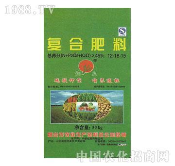 烟农-复合肥料12-18-15