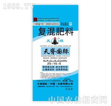 天脊-复混肥料25-15-5