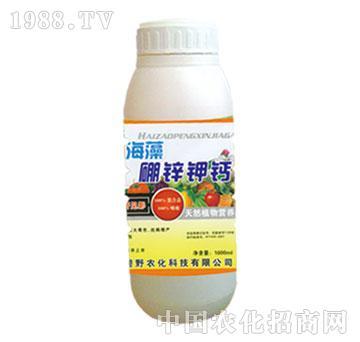 碧野-海藻硼锌钾钙瓶