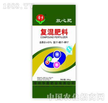 华昌肥业-复混肥料17-17-17