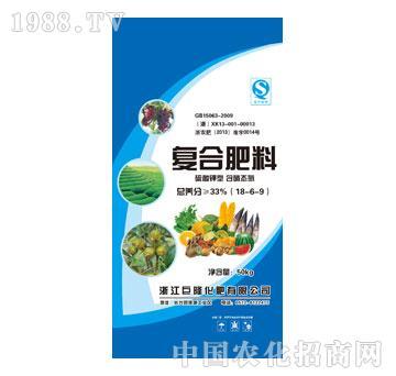 巨隆-复合肥料18-6-9