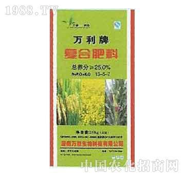 万欣-复合肥料13-5-7