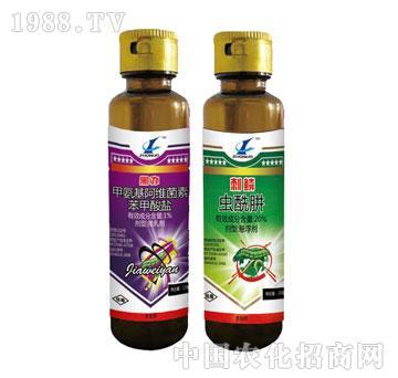中诺-黑办-甲氨基阿维菌素苯甲酸盐+刺鳞-虫酰肼
