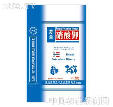 森青-沃达-芬兰硝酸钾