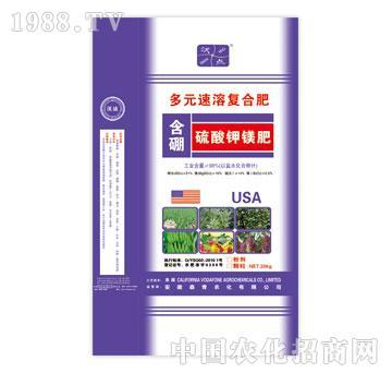 森青-沃点-多元速溶复合肥-含硼硫酸钾镁肥