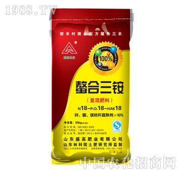 盛高-螯合三铵(复混肥料)