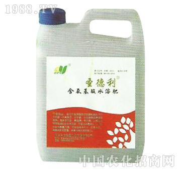 圣德利含氨基酸水溶肥