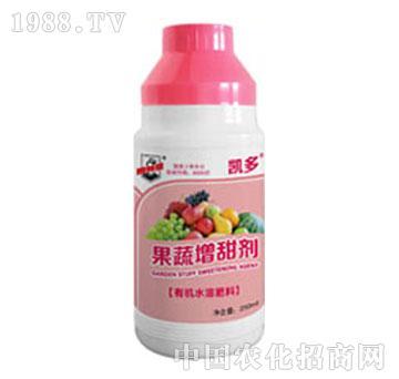 有机水溶肥料果蔬增甜剂