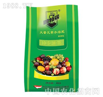 大量元素水溶肥10-5-38(高钾型)-固特丽