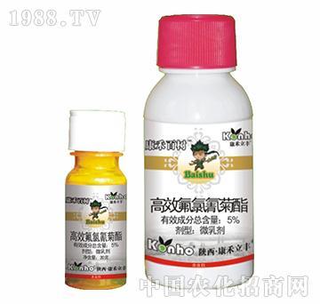 5%高效氟氯氰菊酯-康禾百树