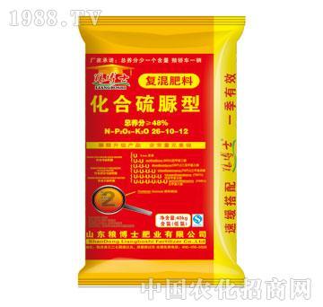 化合硫脲型复混肥料-粮博士-中港化肥26-10-12