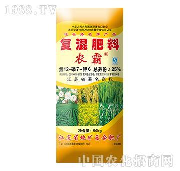 农霸复混肥料12-7-