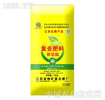 复合肥料黄金钛15-15-15