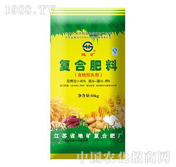 复合肥料含硫控失型16-16-8