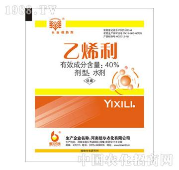 倍尔-40%乙烯利水剂