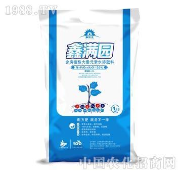 鑫满园含腐植酸大量元素水溶肥―钛德丰