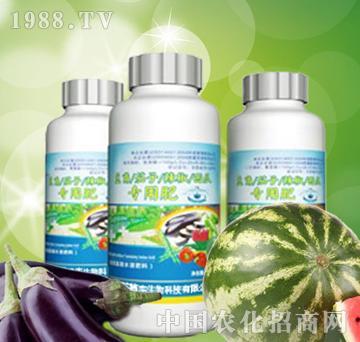 植丰生物-豆角、茄子、辣椒、西瓜专用肥