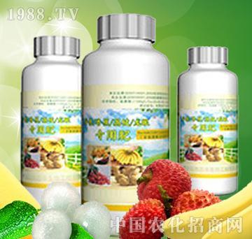 植丰生物-芒果、香蕉、荔枝、龙眼专用肥(含氨基酸水溶肥料)