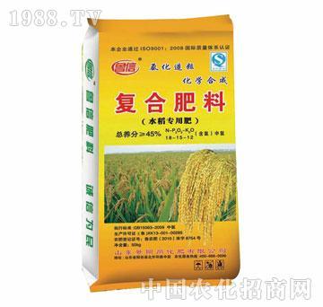 景阳岗-复合肥料-水稻专用肥18-15-12