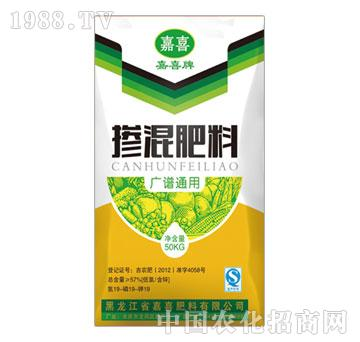 嘉喜-掺混肥料广谱通用