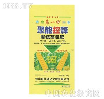 田壮磷化-聚能控释-脲铵高氮肥