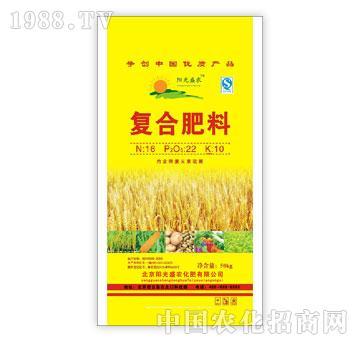 阳光盛农-复合肥料16-22-10