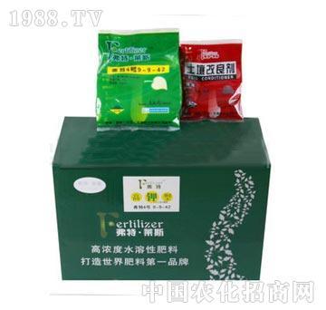 900克大量元素+100克有机肥料组合型产品