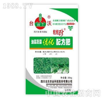 三区40%油菜蔬菜优化配方肥