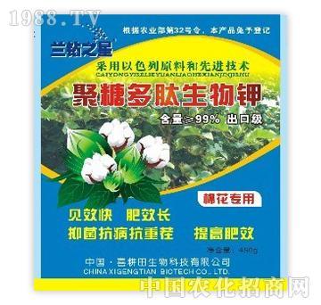 兰钻之星聚糖多肽生物钾棉花专用